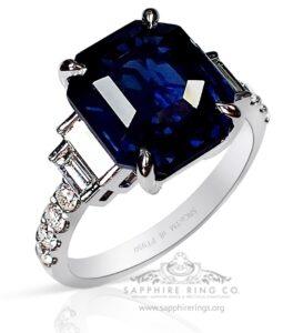 Buy Dark royal blue = GIA B 7/4