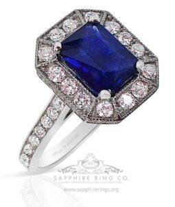 Royal blue GIA B 6/5