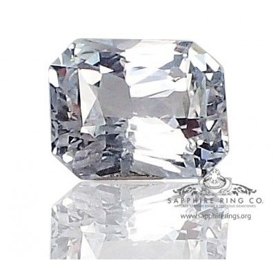 Loose White Natural Sapphire