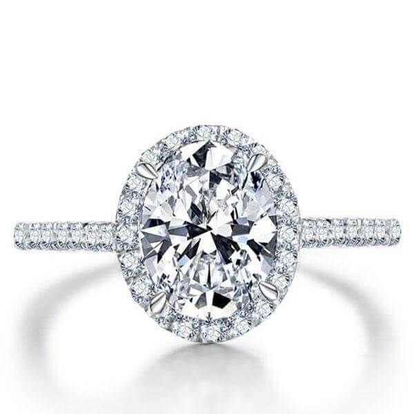 Buying White Sapphire Engagement Rings.