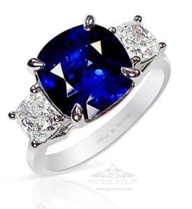 platinum-sapphire-ring