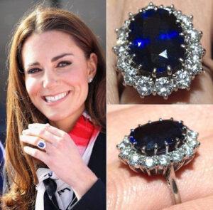 Princess-Diana-blue Sapphire-ring