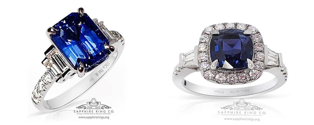 cushion-sapphire-rings