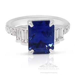 Why a Sapphire Engagement Ring is Best Choice