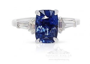blue-Ceylon-Sapphire-and-white-gold-Ring