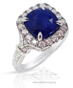 Dark-blue-sapphire-ring-for-ladies