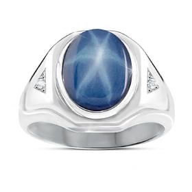mens-star-sapphire-ring