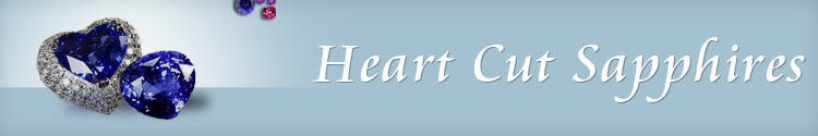 Heart Cut Sapphires