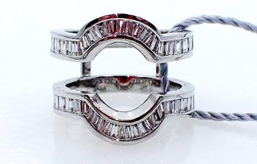 Platinum diamond  band ( Jacket ) only