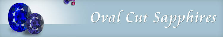 Oval Cut Sapphires