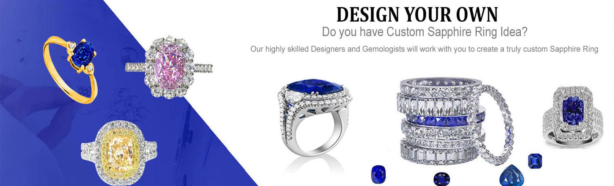 Design Your Sapphire Engagement Rings