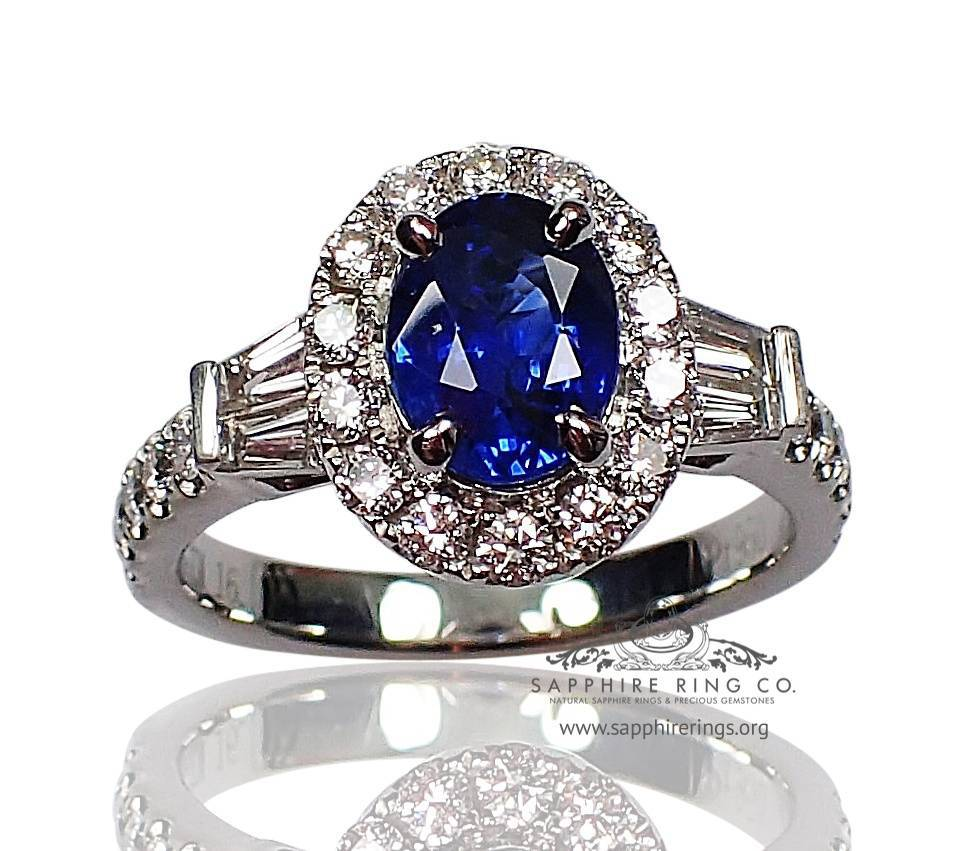 Natural blue Sapphire ring