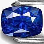 Sapphire from Kashmir